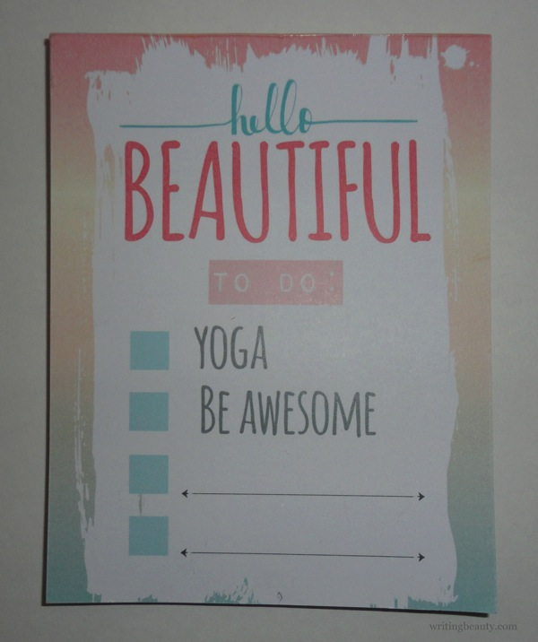 February Teen Yoga Box Review 7