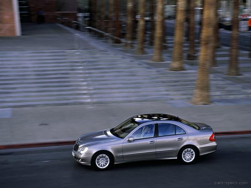 2006 mercedes benz e class sedan specifications pictures for Mercedes benz e class specifications