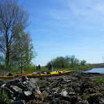 057-We pick nickken aan de doorgang van het Zandmeer naar het Groote Gaastmeer.