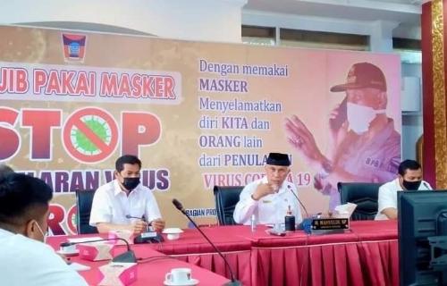 Usung 9 Agenda Prioritas Pembangunan, Wako Mahyeldi Tegaskan Saatnya Kota Padang Bangkit di 2021.
