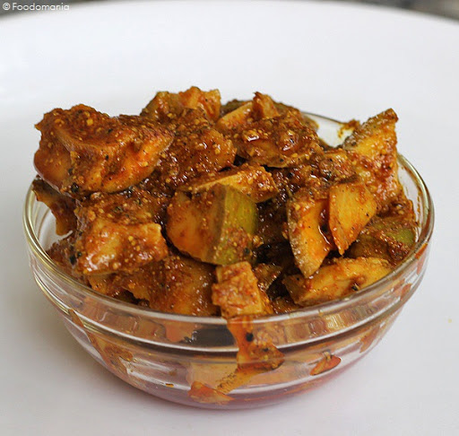 Aam ka Achaar Recipe | Punjabi Mango Pickle | Indian Pickles & Condiments | Aam Achaar step by step pictures | Recipe by Foodomania.com
