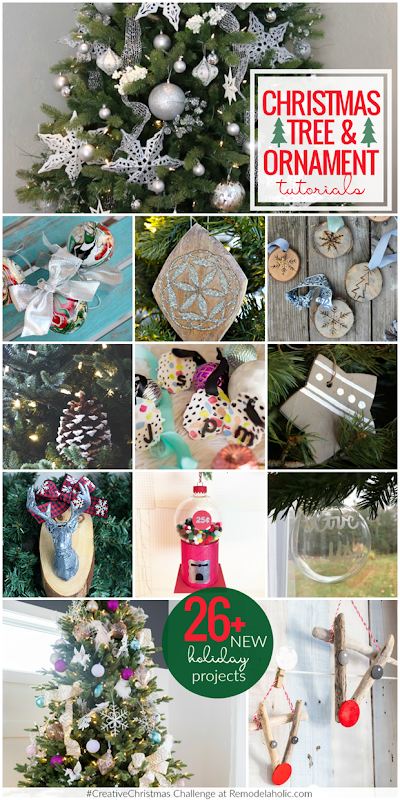 01 Creative Christmas trees and ornaments