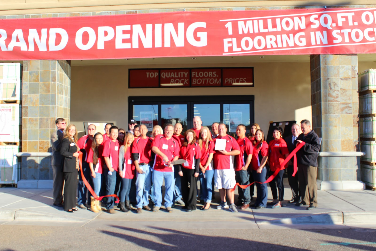 Floor & Decor is a leading specialty retailer in the hard surface flooring market, offering the broadest selection of ceramic, stone, tile, wood and laminate.  Floor & Decor buys direct so you save.  Each store stocks 1 million square feet of products at all times.