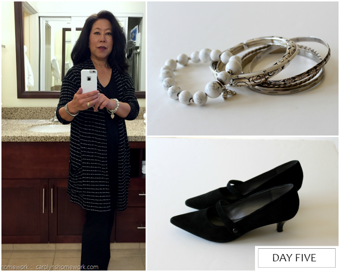 What I Wore Business Travel Day Five
