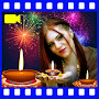 Diwali Video Maker: photo frames and Greetings APK icon
