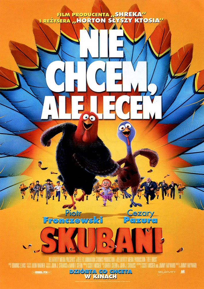 Ulotka filmu 'Skubani (przód)'