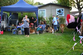 Photo: Le camp se rempli le samedi