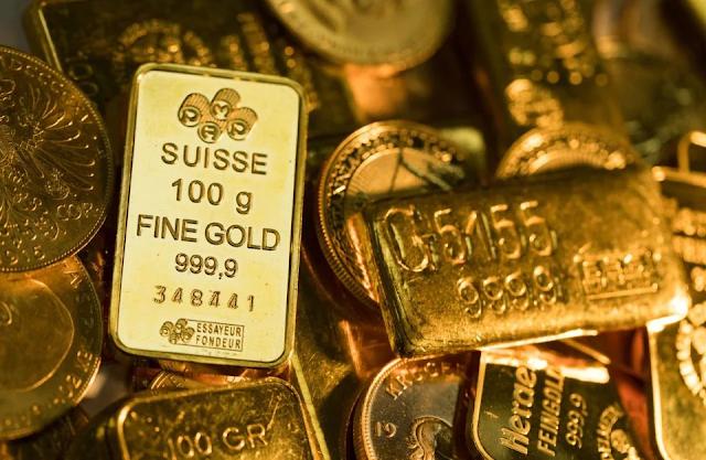harga emas semasa jatuh
