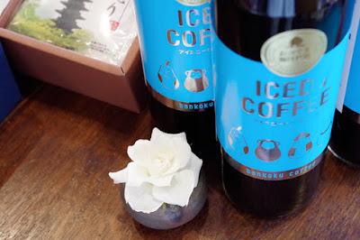 バンカオリジナル商品:おかやま珈琲物語アイスコーヒーブラック(無糖)