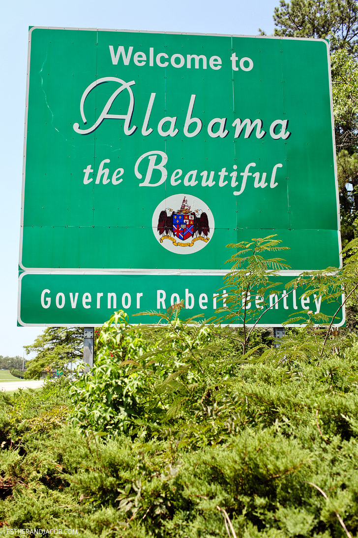 Alabama state sign | What to See in Alabama.