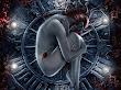 Girl In Iron Circle