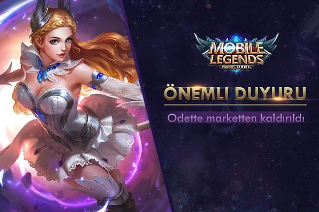 Mobile Legends 'da Önemli Gelişme - Marketten Kaldırıldı