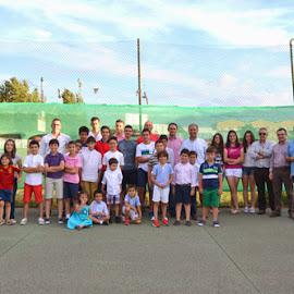 Clausura Escuela de Tenis Montijo