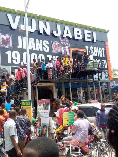 Vunja bei store mall in Tanzania photo