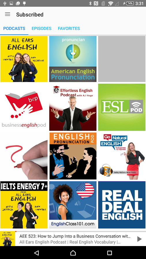 Hello English: Learn English: captura de pantalla