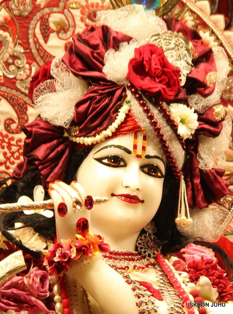 ISKCON Juhu Sringar Deity Darshan on 30th Sep 2016 (20)
