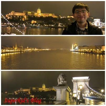 我在多瑙河畔,我在布達佩斯。