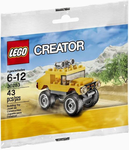 Đồ chơi xếp hình Lego Creator 30283 Xe địa hình Off-Road Vehicle đựng trong túi nhựa