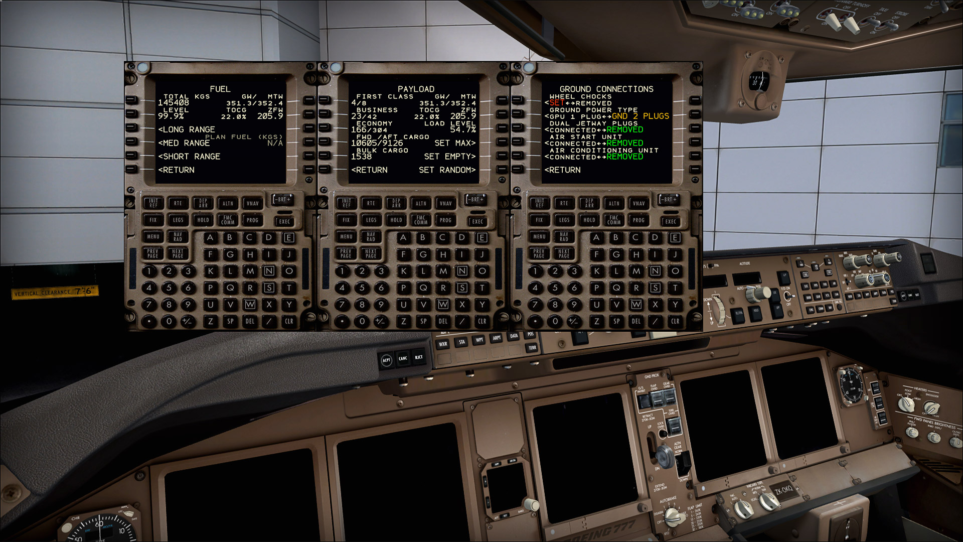 Boeing 777 – PMDG Part 4 Startup • C-Aviation