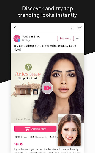 YouCam Shop - World's First AR Makeup Shopping App  screenshots 2