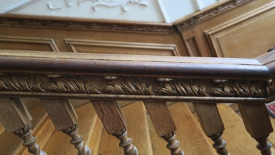 Staircase rail