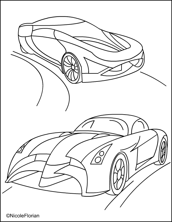 CARS * coloring pages title=