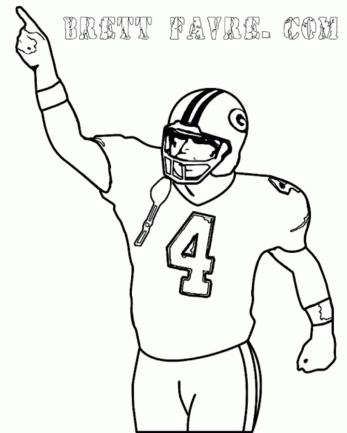 Football Coloring Pages To Print Coloring Page