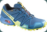Salomon trail-running shoes