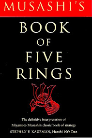 Cover of Miyamoto Musashi's Book A Book Of Five Rings