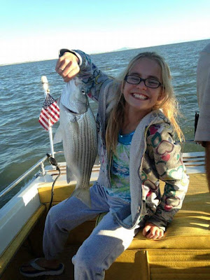 kids catch more wipers with our guides at willard bay