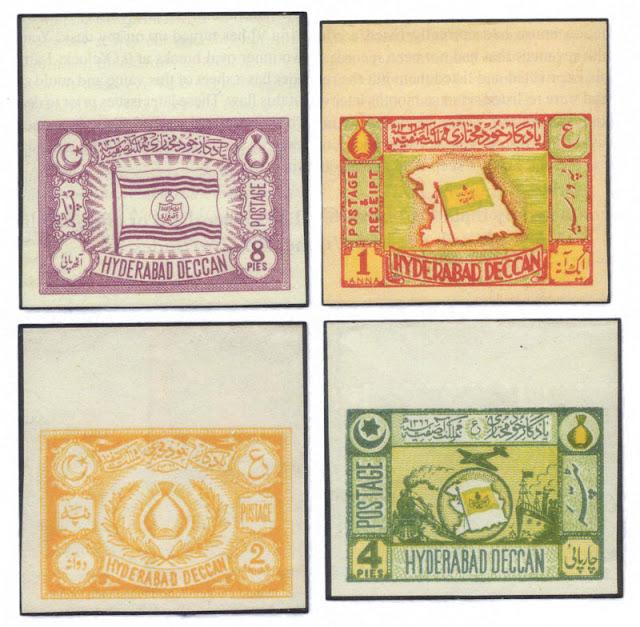 Hyderabad - Rare Pictures - Nizam-Hyderabad-stamps.jpg
