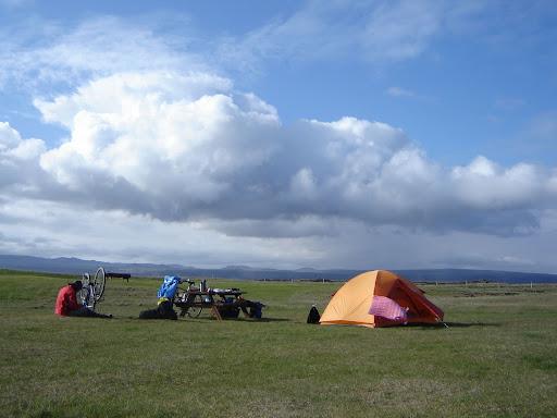 Free camping at Strandarkirkja [Iceland]