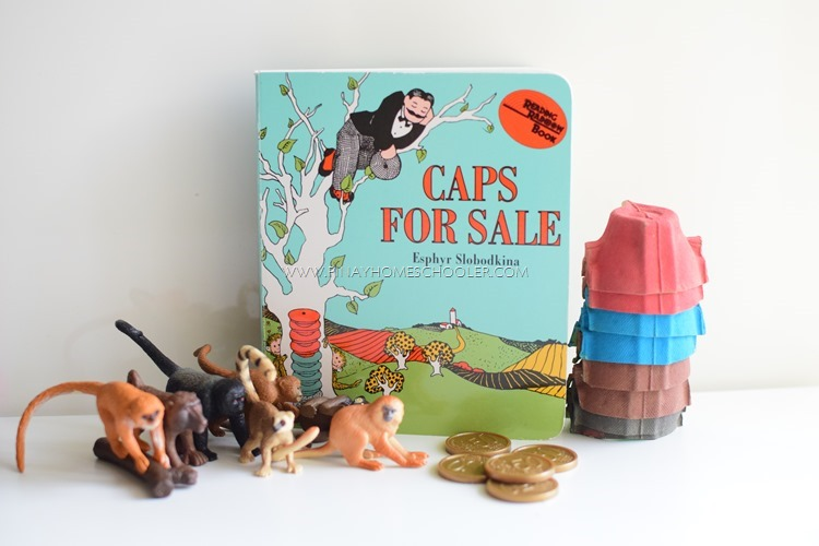 B4FIAR: Caps for Sale! (with FREE Counting Cards)