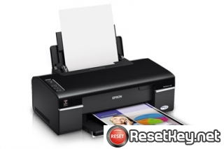 Epson WorkForce 40 Waste Ink Pads Counter Reset Key