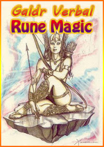 Cover of Anonymous's Book Galdr Verbal Rune Magic