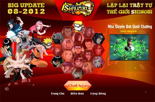 Nhu Quyền Thuật sắp xuất hiện trong Shinobi Online 1