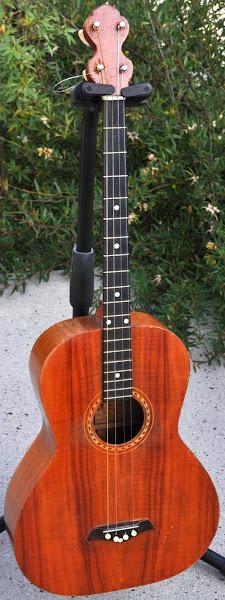 Weissenborn made Tenor Guitar