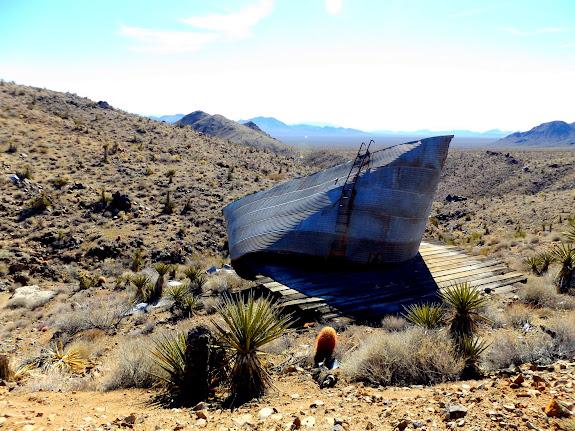 Bighorn Mine water tank