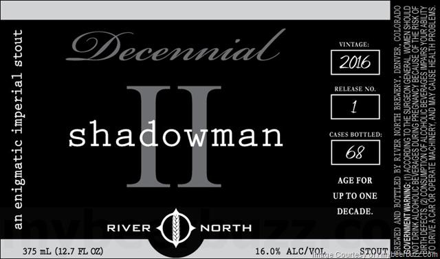 River North Vicennial & Decennial Father Time III, Shadowman II & God Complex I