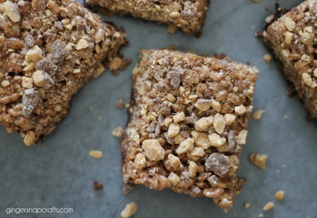 crunchy brownie recipe