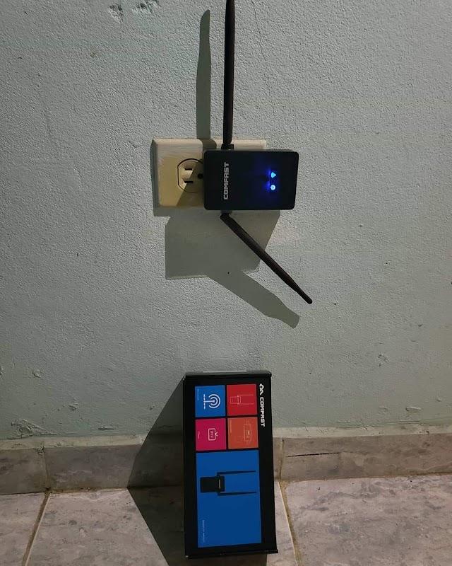 Extensor de señal wifi Comfast,