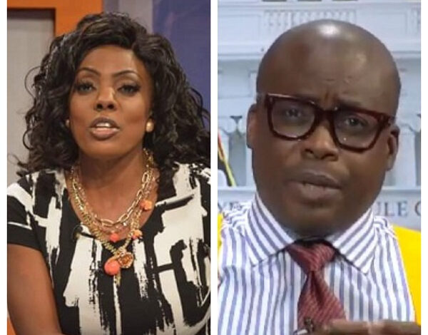 Stop This Life!!! – Nana Aba Clashes With Paul Adom-Otchere Over #FixTheCountry Demo