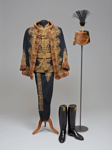 Hungarian dress uniform of a Privy Councillor. From The Museum of Fine Arts Houston Cloaked in Magnificent Opulence