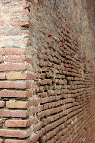 Wall closeup of Cypress tomb, Lahore