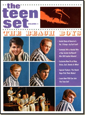 THE TEEN SET Vol 1 1964 - photos & stories by Earl Leaf