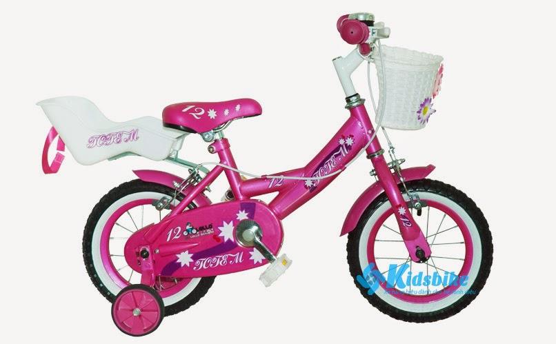 Xe đạp cho trẻ Totem Rose12