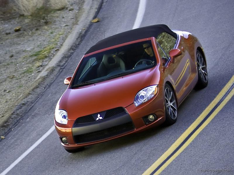 2009 Mitsubishi Eclipse Spyder Convertible Specifications Pictures