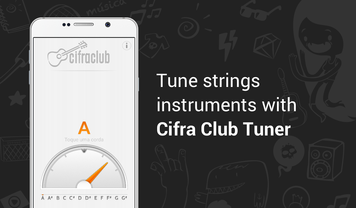 Cifra Club Tuner- screenshot