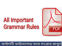All Important Grammar Rules - PDF Download