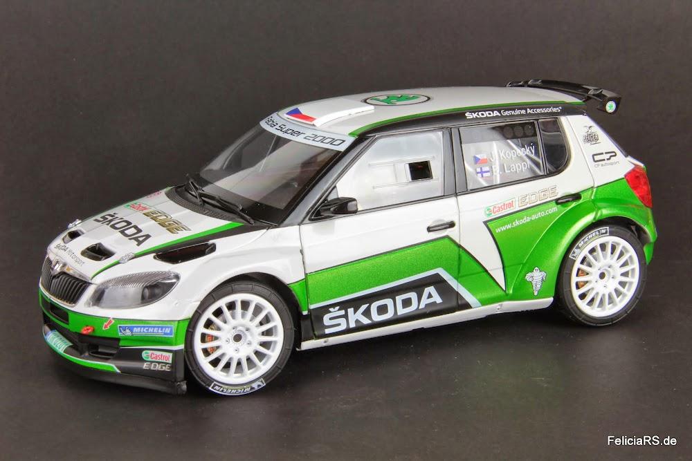 Škoda Fabia S2000 Abrex 1:18